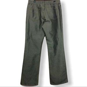 4/$25 sale Metallic look Black Silver Jeans